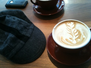 Latte by Bradburys, wool by Walz