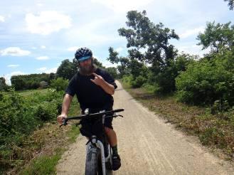 Riding bikes is metal.