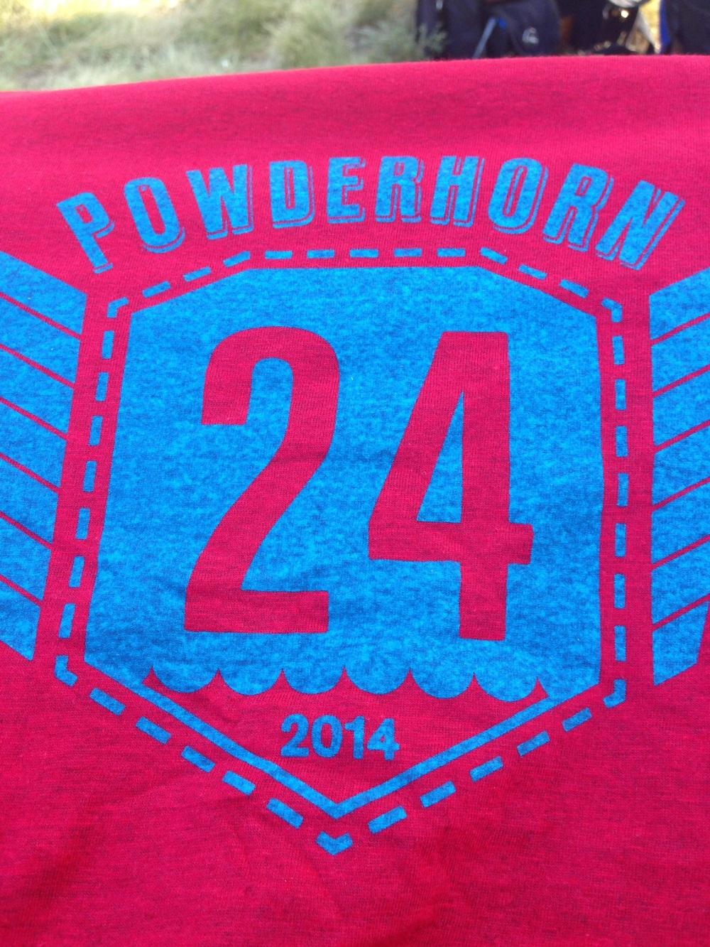 The 2014 rider t-shirt.