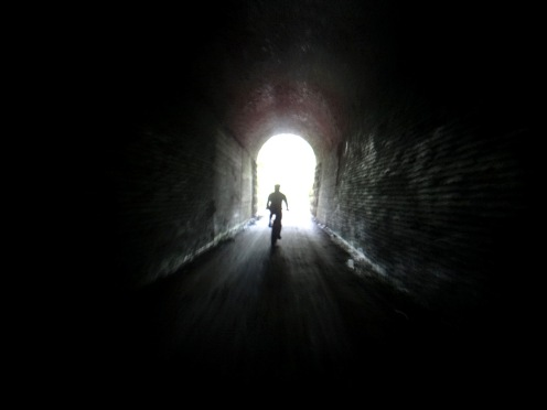 Going toward the light (Photo by Nate Vergin)