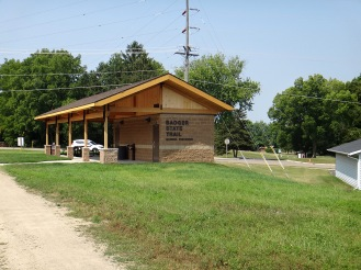 The new BST shelter in Monroe (Photo by Nate Vergin)