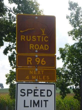 My nearest Rustic Road.