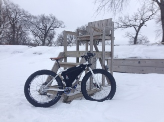 The best kind of beach riding.