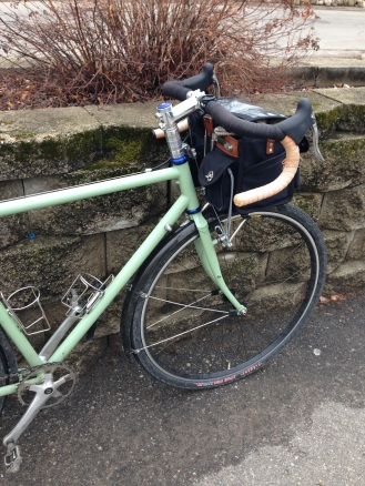 Easy rides on damp days are the best.