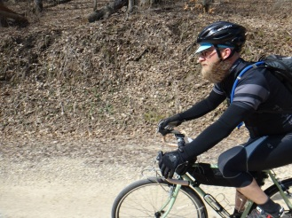 Riding the dry gravels of Dairy Roubaix.