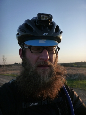Post-crash Trans-Iowa back-pain-face.