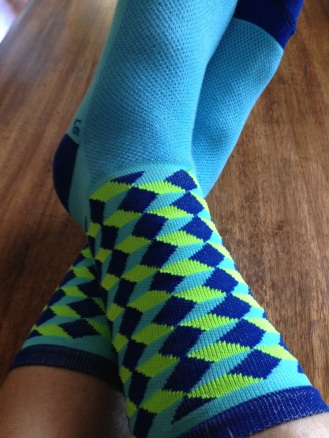 Fancy socks.