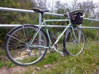 On the long way home.