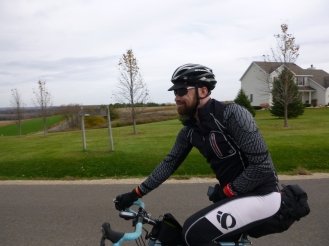 Rolling to New Glarus, for a visit to the brewery, the bakery, and the butcher shop.