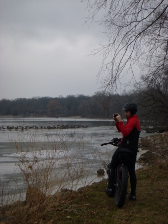 Nate and approximately 1 million geese.