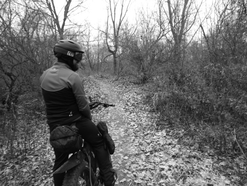 Nate, in the MATC trails.