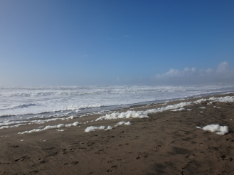 Ocean Beach, after a storm.