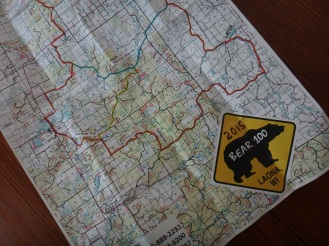 The Bear 100k route
